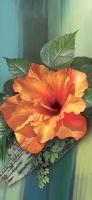 Китайская роза -размер 210х97 см (6 листов)